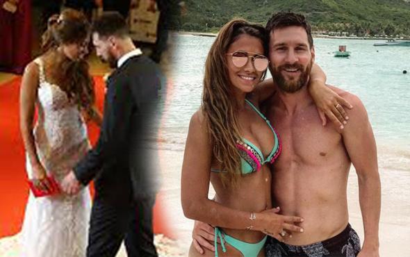 Lionel Messi ve Antonella Roccuzzo balayının tadını çıkarıyor!