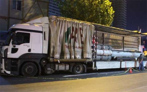 TIR konteynırından ağır yaralı 3 mülteci çıktı
