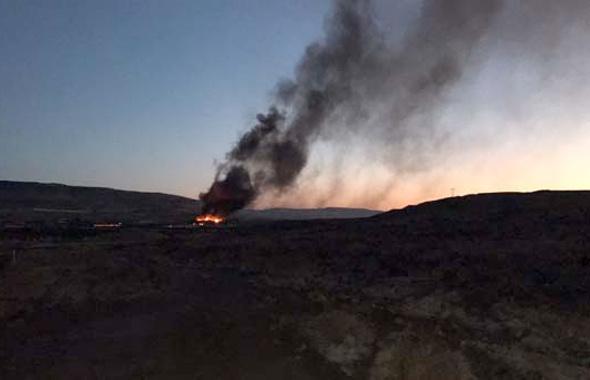 Kilis'te askeri alanda patlamalar! Son dakika haberler var