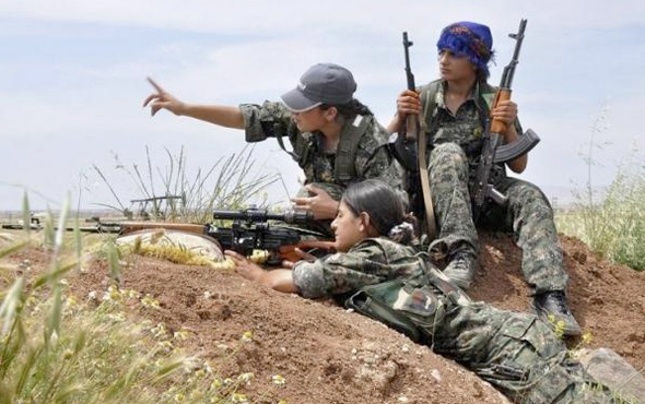 PKK/PYD'den hain plan Türk askeri yapıyormuş gibi yayınlayın