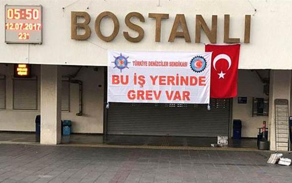 İzmir'de anlaşma sağlanamadı grev nedeniyle hayat durdu