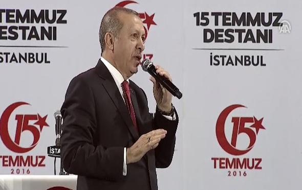 Erdoğan'dan Kılıçdaroğlu'na: CD ile o makama geldin