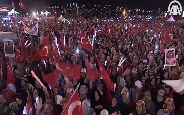 Cumhurbaşkanı Erdoğan'dan Dua şiiri