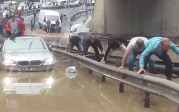 Bugün İstanbul'da çekildi işe gitmek için bakın ne yaptılar