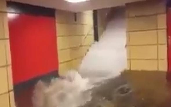 İstanbul'da sel felaketi! vatandaşların kamerasından o anlar