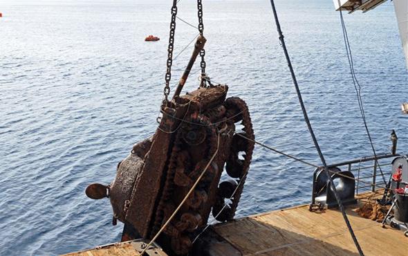 Denizin dibinden çıkan tankın olayı ne?