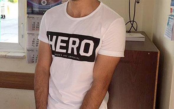 'Hero' tişörtü giyen bir kişi daha gözaltına alındı
