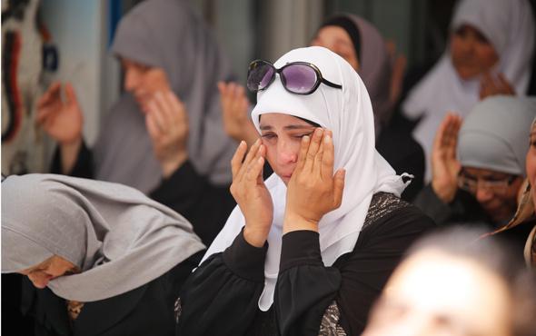 Mescid-i Aksa'da İsrail zulmü yeni fotoğraflar geldi