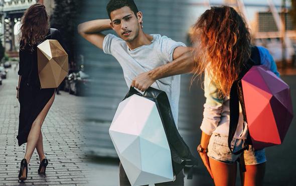 Dünyada ilk! Bu çantaların kılıfları değişiyor!