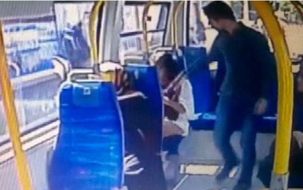Minibüste şortlu kıza saldırıda yeni gelişme şimdi yandı!