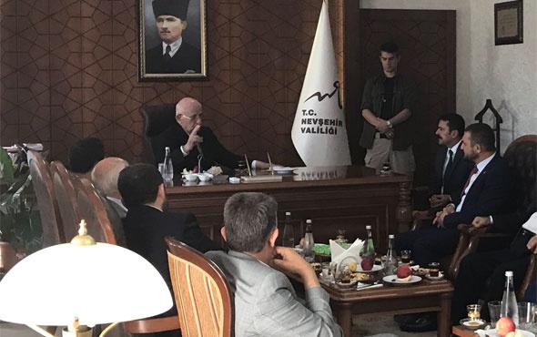 Meclis Başkanı Kahraman Nevşehir'de