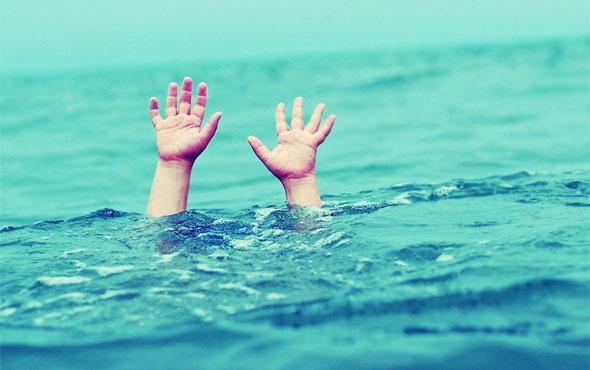 İki kişiyi kurtardı kendisi boğuldu
