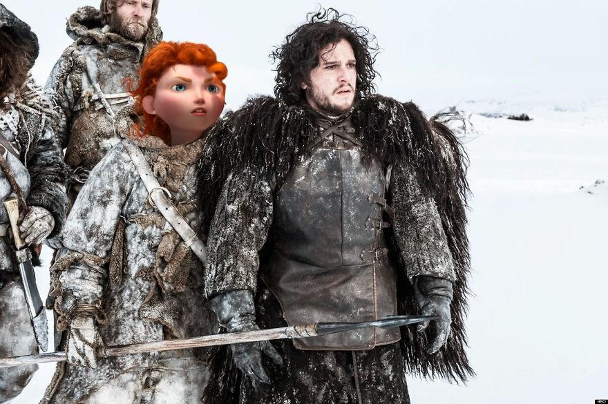 Disney Karakterleri Game Of Thrones'da  - Sayfa 3