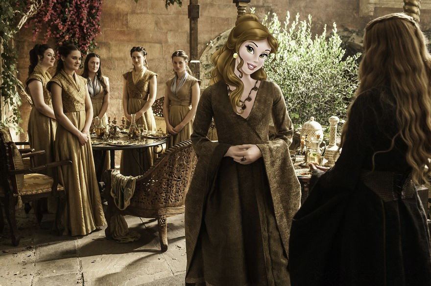 Disney Karakterleri Game Of Thrones'da  - Sayfa 4