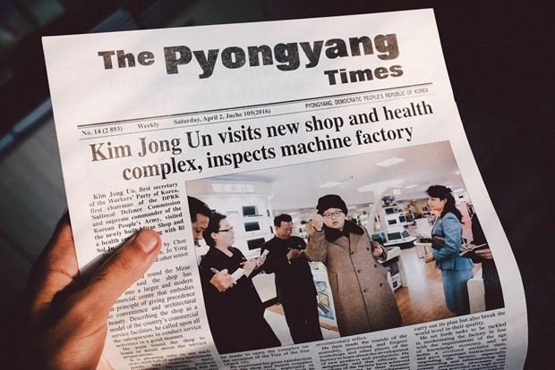 Dünyanın en kapalı ülkesi Kuzey Kore'de çıkan gazeteye bakın
