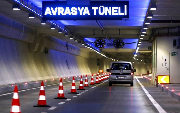 Bakanlık açıkladı; Avrasya Tüneli'nde son durum