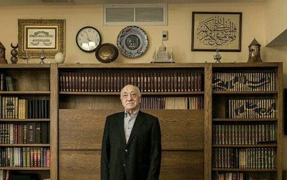 Darbeyi ulusalcılar yapmıştır diyen Gülen'in odasındaki tabloya bakın!