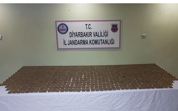 Diyarbakır'da 3 bin 518 keskin nişancı tüfeği fişeği