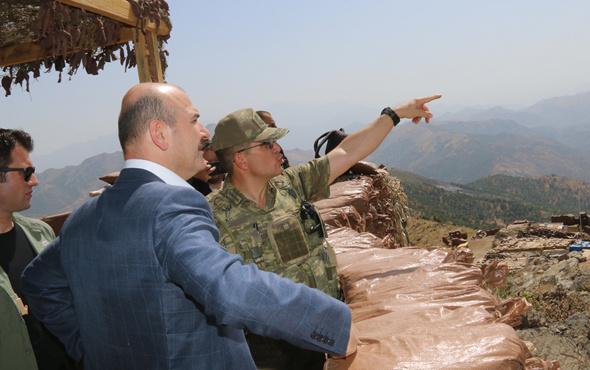 PKK'nın bağlantısını kesecek yol! Bakan Soylu açıkladı