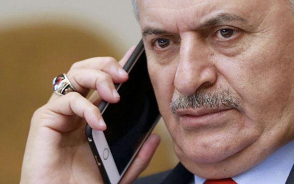 Başbakan Yıldırım'dan Ersin Çelik'e taziye telefon