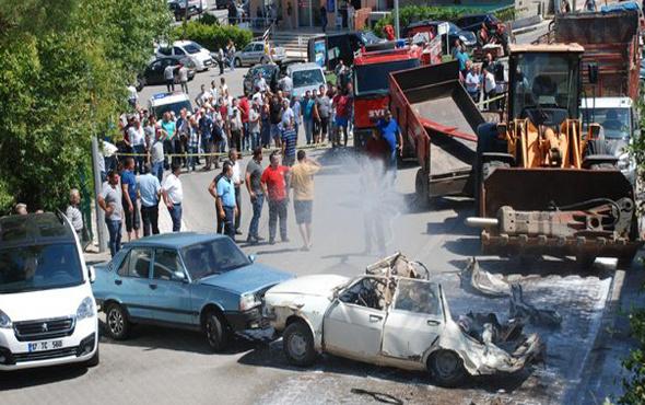 Böyle kaza görülmedi! 6 araç hurdaya döndü