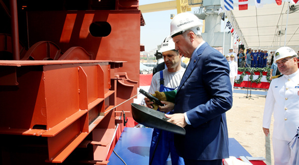 İlk kaynağı Erdoğan yaptı açıkladı : Uçak gemisi yapacağız!