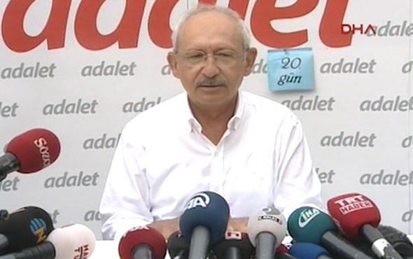 20. günde Kılıçdaroğlu'ndan AİHM açıklaması