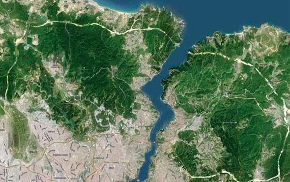 Google İstanbul'u uzaydan inceledi ve durum vahim!