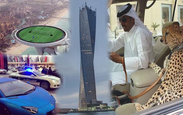 Dubai'den başka yerde yok bu ortamlar!