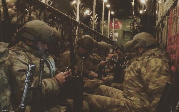 Türk askeri Katar'a böyle gitmiş işte o görüntü