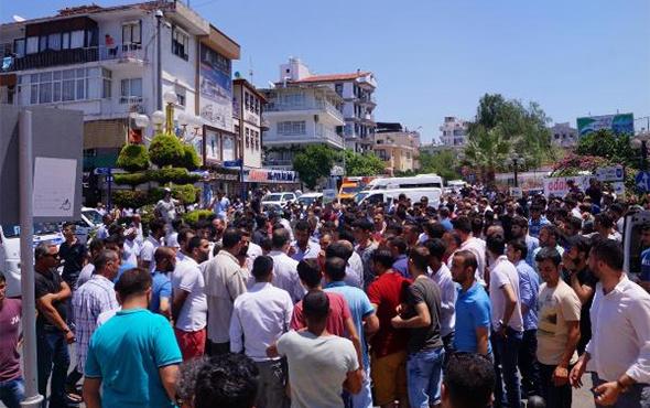 Kuşadası'nda gergin anlar: Avukatlar AVM'ye sığındı!