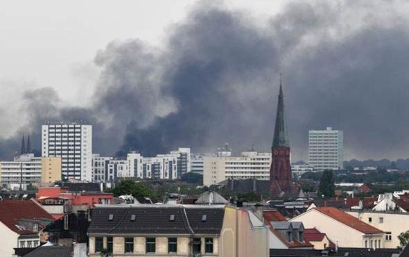 G20'de şoke eden görüntü az önce Almanya'da...