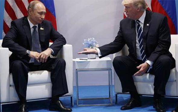 Trump ve Putin ilk kez bir arada: İlginç sözler!