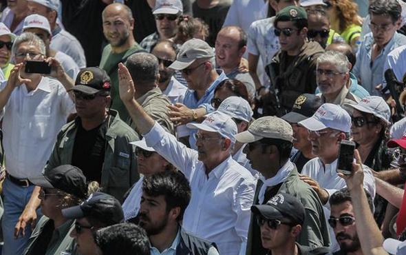 Kılıçdaroğlu'nu yürüyüşte rahatsız eden sloganlar