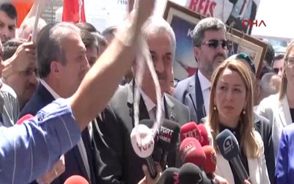 AK Parti heyeti, vatandaşların 'idam talebiyle' karşılandı