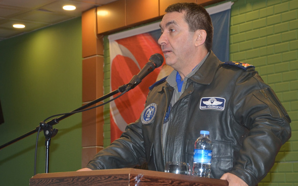 Hasan Küçükakyüz kimdir YAŞ kararları 2017 yeni Hava Kuvvetleri Komutanı
