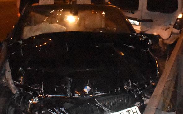 Tuzla'da feci kaza yaralılar var