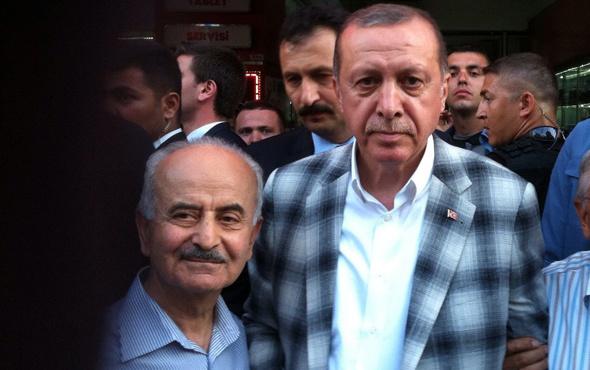 Cumhurbaşkanı Erdoğan'dan hocasına vefa