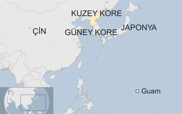 Kuzey Kore-ABD savaşının ortasındaki ada Guam nerede neden önemli?