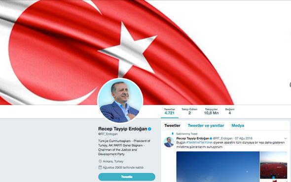 Saray'dan Türkiye Cumhurbaşkanı açıklaması