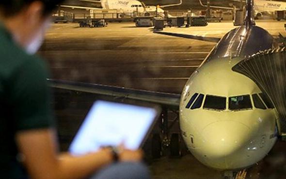 Diyarbakır Havalimanı'nda ışıklar sönünce uçaklar tehlike atlattı