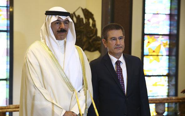 Bakan Canikli, Kuveyt Başbakan Yardımcısı el Sabah ile görüştü