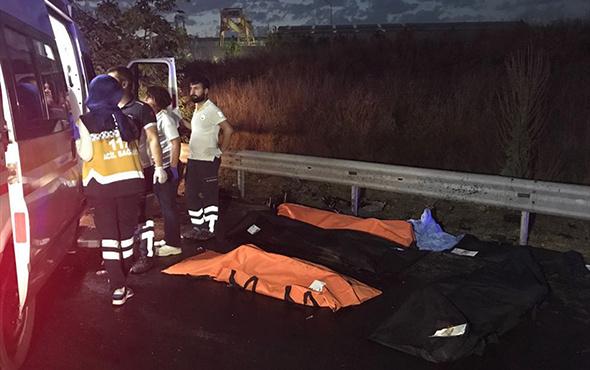 Karşı yöne geçen TIR dört araca çarptı: 6 ölü, 3 yaralı!