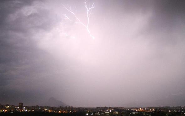 Afyon saatlik hava durumu meteoroloji uyarı verdi