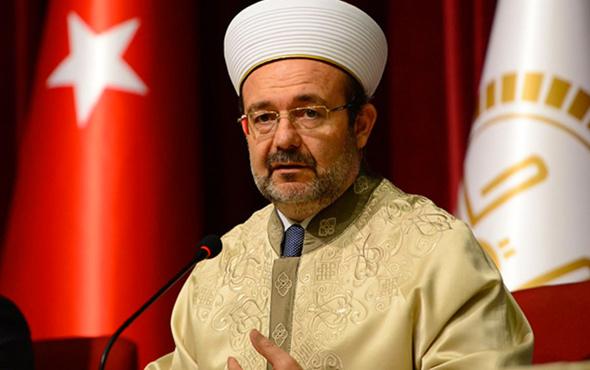 'Görevi bırakmadı, Mehmet Görmez'in istifası istendi'