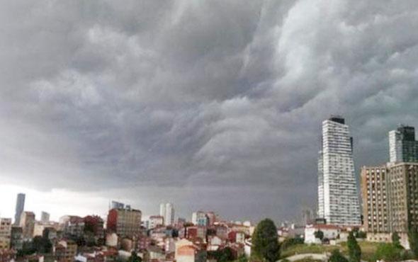 İstanbul'da sağanak başladı uçaklara kümülonimbus ayarı!