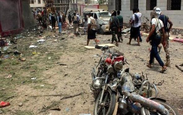 Yemen'de otele hava saldırısı! Onlarca ölü var