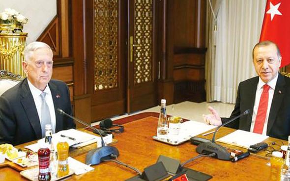 Erdoğan'ın ABD'li bakanın önüne koyduğu fotoğraf