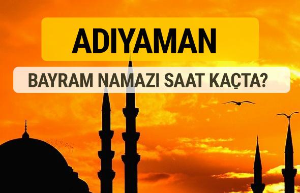 Adıyaman Kurban bayramı namazı saati - 2017