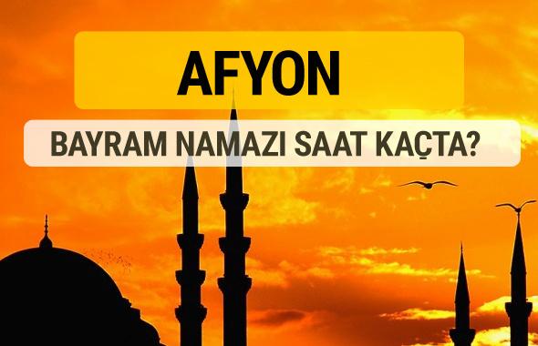 Afyon Kurban bayramı namazı saati - 2017